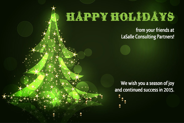Seasons Greetings From LaSalle Consulting Partners, Inc.